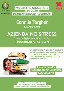 Locandina Azienda No Stress 18 ottobre